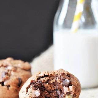 Chunky Monkey Chocolate Banana Muffins (Vegan)