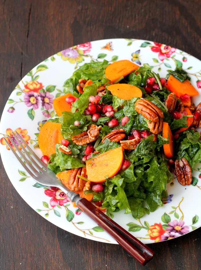 kale-persimmon-and-pecan-salad-www.foodpleasureandhealth.com