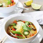 Asian Vegetable & Glass Noodle Soup