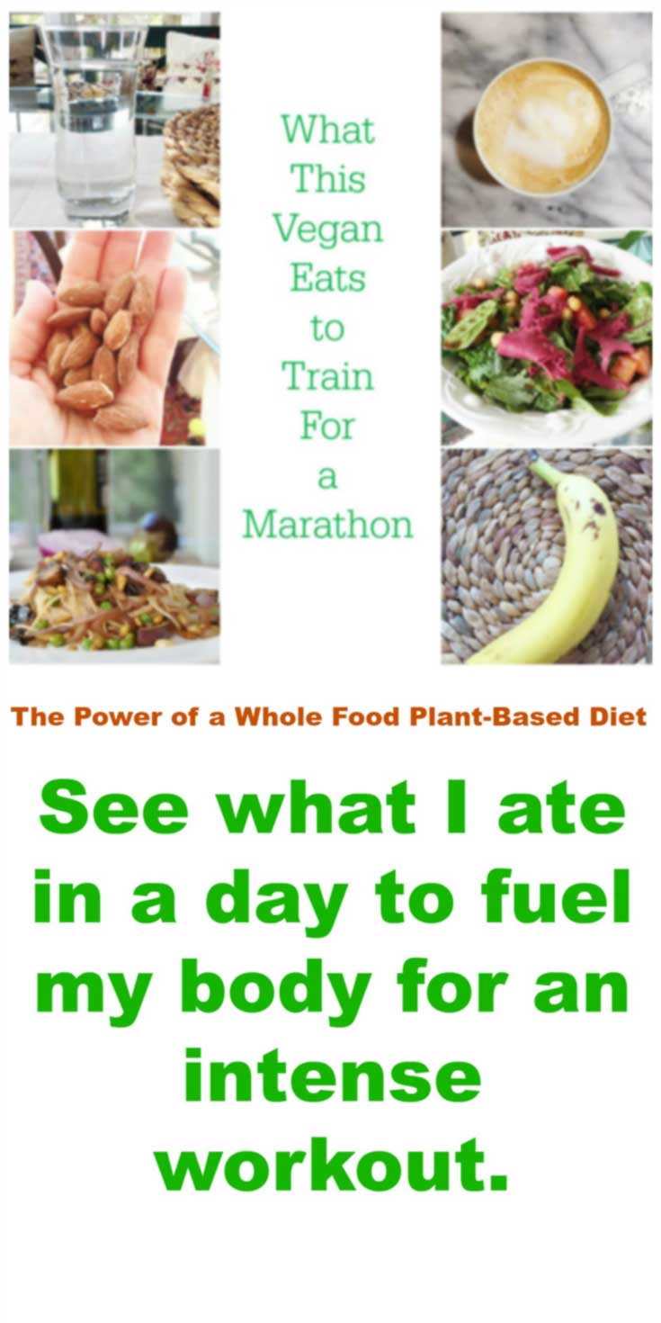What This Vegan Easts to Train for a Marathon! See what I ate and what I did. www.veganosity.com