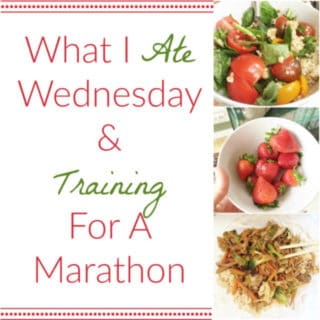 What I Ate Wednesday & Training for a Marathon on a Vegan Diet