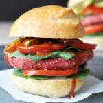 Vegan Beet Burgers that Won't Fall Apart on the Grill