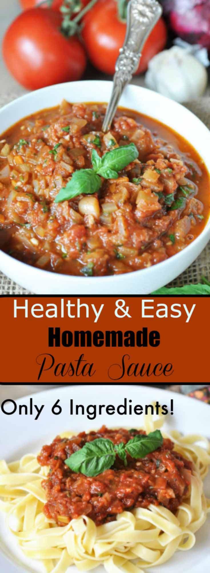 how to make homemade pasta sauce
