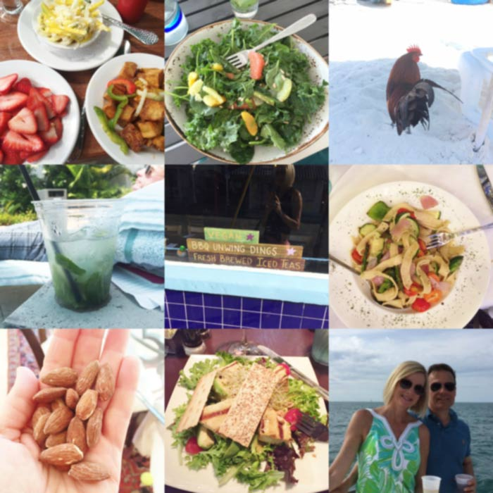 How to Eat Healthy in a Tropical Location While Training for a Marathon. Eating out and eating healthy isn't always easy when you're vegan. This is how I managed and you can too. www.veganosity.com