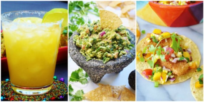 Vegan Mexican Recipes for Cinco de Mayo! From margaritas to dessert, you'll find it all right here. www.veganosity.com