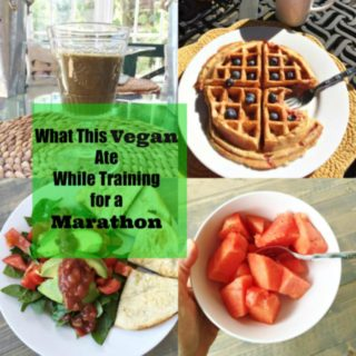 Take a look at what this vegan eats while training for a marathon. How to stay strong and healthy and full of energy! www.veganosity.com