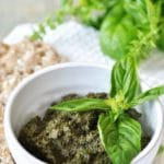 Classic Vegan Walnut Pesto