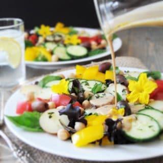 Vegan Summer Nicoise Salad for Two