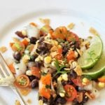 Southwestern Roasted Corn and Black Bean Salad