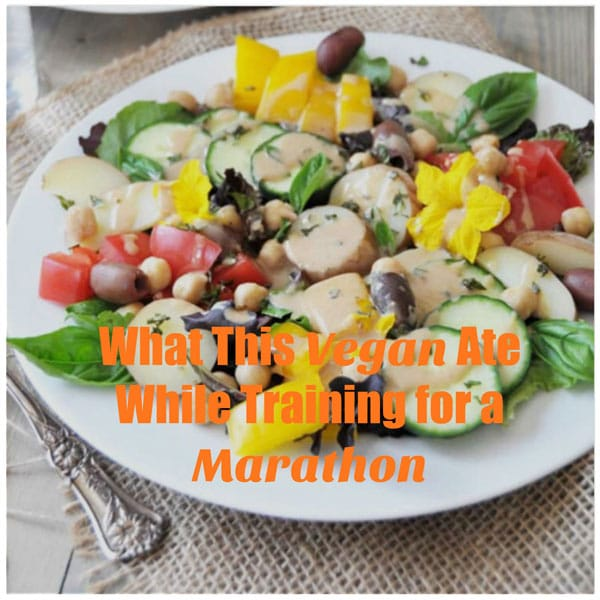 The secret to staying strong and healthy on a plant=based diet while training for a marathon! www.veganosity.com