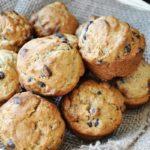 Vegan Chocolate Chip Banana Bread Muffins
