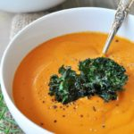Creamy Vegan Roasted Carrot Soup