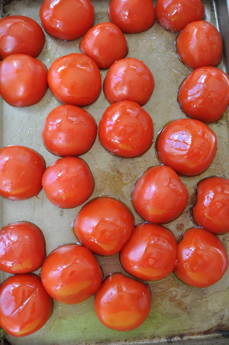 The rich and smoky flavor of roasted tomatoes will make this a family favorite. www.veganosity.com