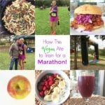 What This Vegan Ate to Train for a Marathon - Race Completed!