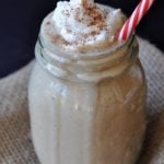 Healthy Vegan Gingerbread Cookie Smoothie