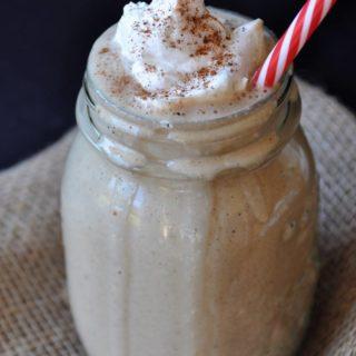 Healthy Vegan Gingerbread Cookie Smoothie