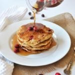 Vegan Cranberry Orange Pancakes