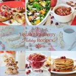 Eight Vegan Cranberry Holiday Recipes
