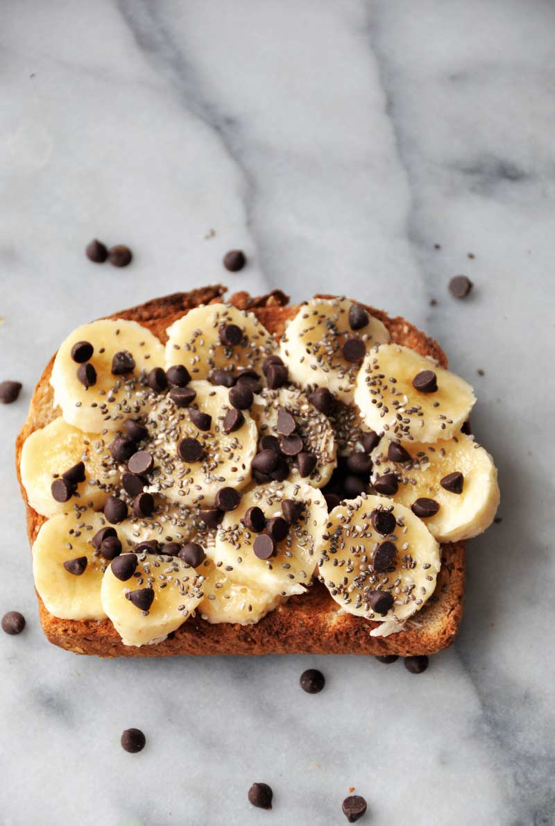 Simple, easy, healthy, and vegan toast that's delicious! Make it for breakfast, lunch, dinner, or a snack! www.veganosity.com