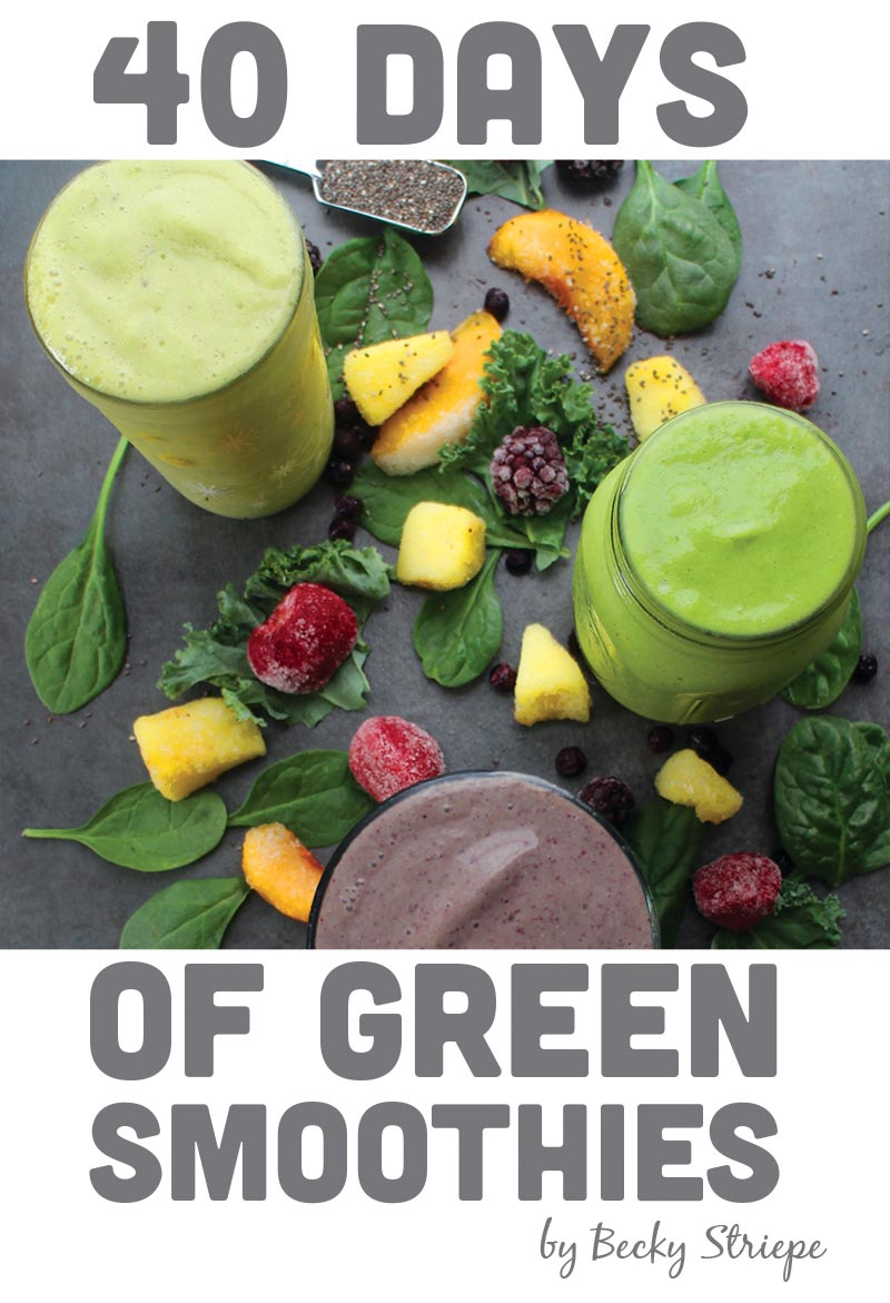Coconut Blackout Smoothie and 39 more to start your day healthy! Register for a chance to win 40 Days of Green Smoothies.