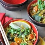 Homemade Vegan & Gluten-Free Asian Ramen Noodle Soup
