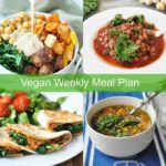 Healthy Vegan Weeknight Meal Plan