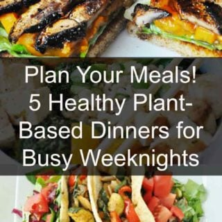 Vegan meal plan. 5 nights of healthy vegan dinners. www.veganosity.com