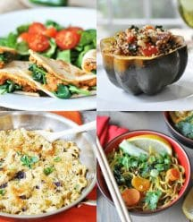 A vegan meal plan to make your weeknight dinners healthy, easy, and quick!