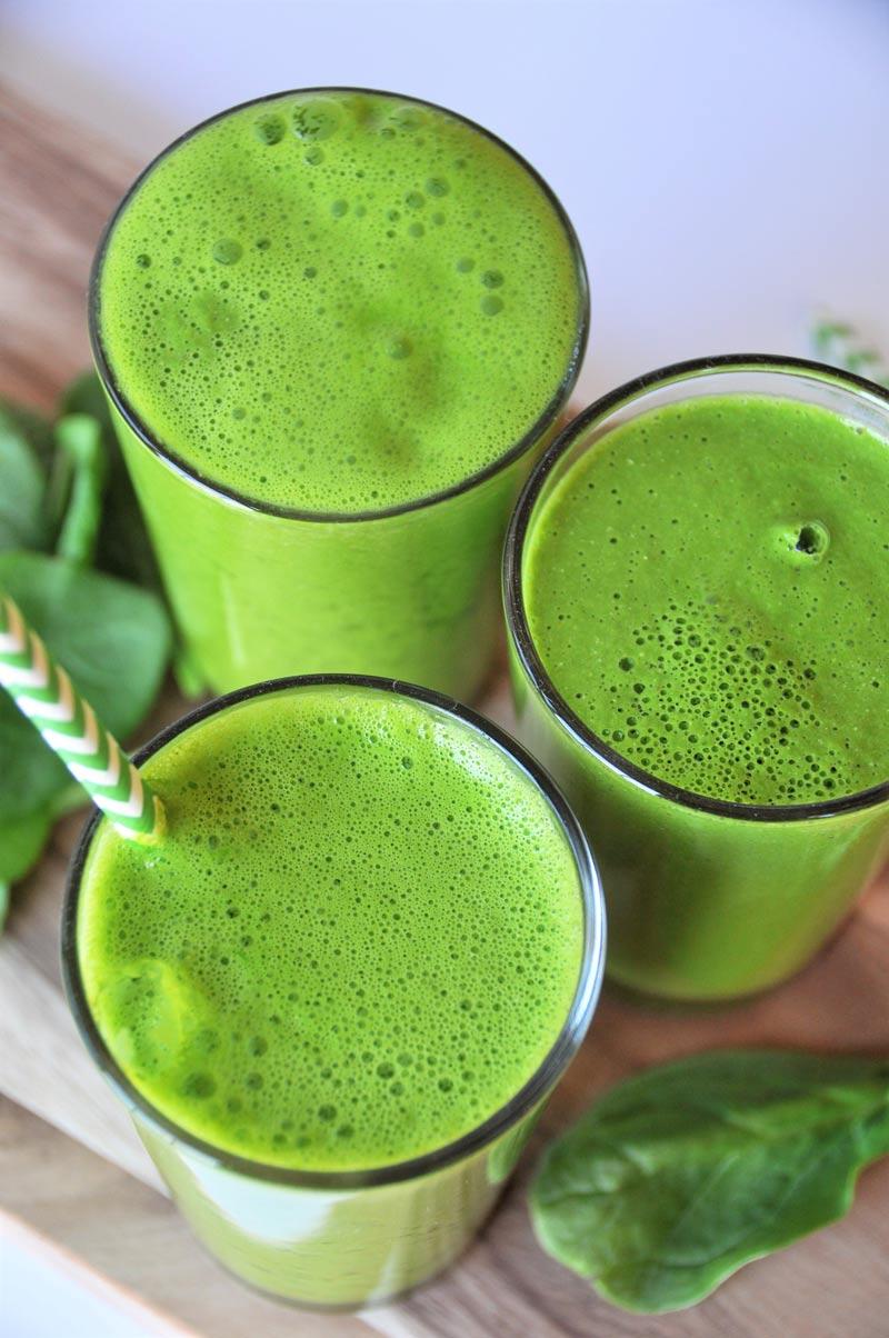 Homemade Green Apple Juice