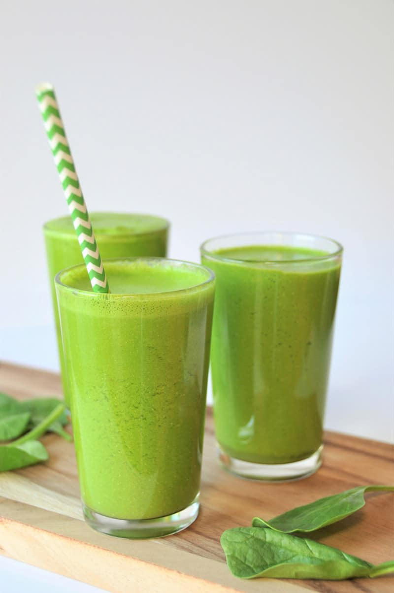 Homemade Green Apple Juice