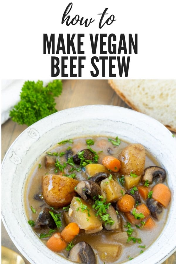 Vegan Beef Irish Stew Veganosity