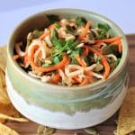 Jicama & Carrot Slaw with Lime Dressing