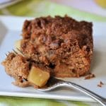 Vegan Apple Cinnamon Crunch Cake (Gluten-free)