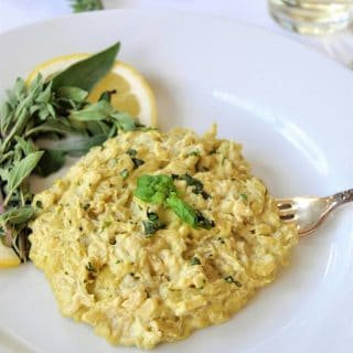 3 Herb and Lemon Vegan Risotto