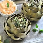 How To Steam Artichokes With A Spicy Mayo Recipe