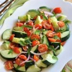 Cucumber, Tomato & Mint Salad