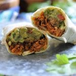 Quinoa & Kale Breakfast Burritos from Sweet, Savory & Free