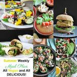 Weekly Summer Meal Plan with a Shopping List