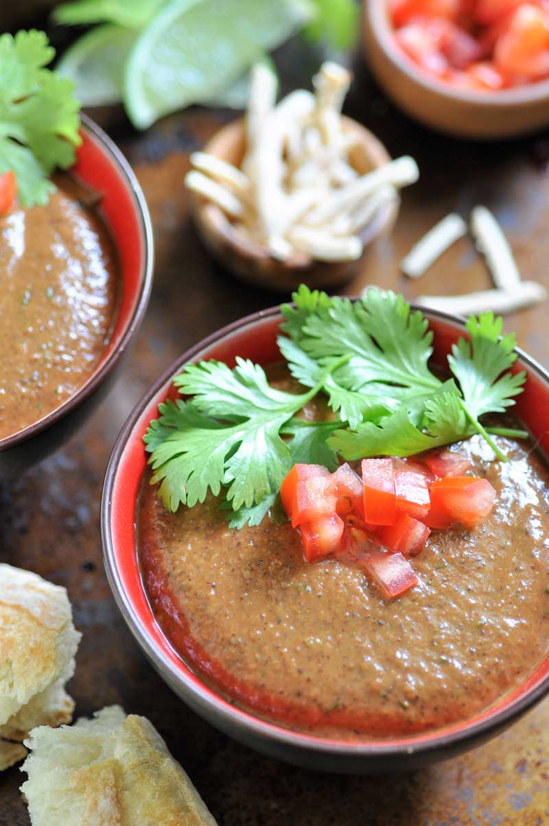 Easy Vegan Cuban Black Bean Soup