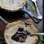 Blueberry Thyme Skillet Pie