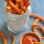 Oven-Baked Curry Carrot Fries