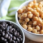 Make Raw Garbanzo & Black Beans in 3 Easy Steps!