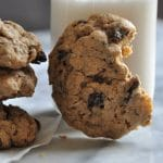 Soft Gluten-Free & Vegan Oatmeal Raisin Cookies