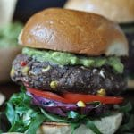 Healthy Black Bean Taco Burgers