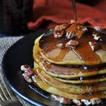 Homemade Vegan Pumpkin Pancakes