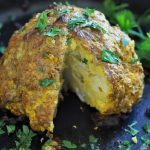 Middle Eastern Spiced Whole Roasted Cauliflower