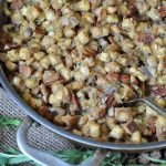 Vegan Pecan & Tarragon Thanksgiving Stuffing