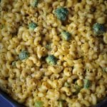 Black Pepper Cheesy Mac and Broccoli