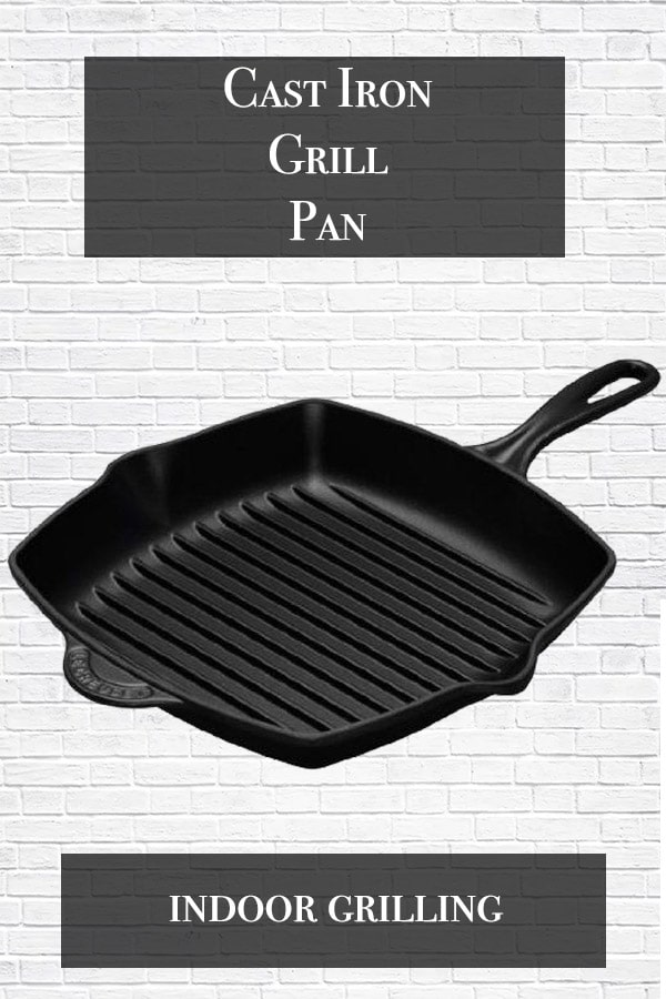 grill pan cover with cast iron grill pan