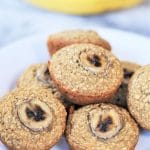 Healthy Vegan & Gluten-Free Banana Muffins